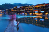 Fenghuang by nigh — Stock Photo