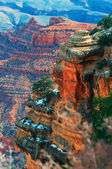 Grand Canyon After Glow — Stock Photo