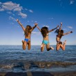 Party on beach — Stock Photo #33545191
