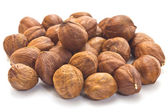 Hazelnut kernels — Stock Photo