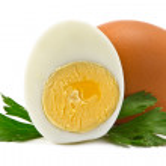 Постер, плакат: Half boiled eggs