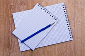 Two notebook — Stock Photo