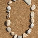 Numbers stones — Stock Photo #26296197