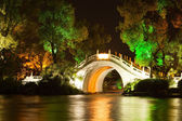 Bridge in guilin nightscape — Stock Photo
