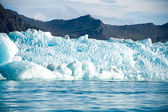 Glacier in the mountains — Stock Photo