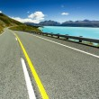 Asphalt mountain road — Stock Photo