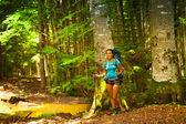 Hiker girl — Stock Photo