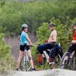 Friends of mountain bikes — Stock Photo #43432657