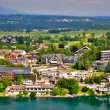 Miniature of Bled town — Stock Photo