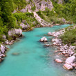 Stock Photo: River in SloveniAlps