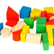 Stock Photo: Wood lego