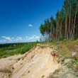 Landscape with sandy quarry — Stock Photo #27395637