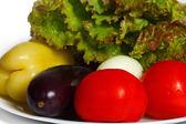 Bodegón de verduras para cocinar — Foto de Stock
