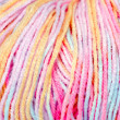 Skein of colored yarn melange closeup — Stock Photo #40433527