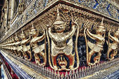 The decoration of the Palace of the king of Thailand — Stock Photo