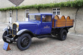 Martell cognac old delivery truck — Stock Photo