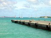 Puerto de st. barts — Foto de Stock
