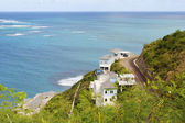 St Kitts south coast — Stock Photo