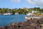 Castries Harbour — Stock Photo