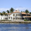 Mansion in Fort Lauderdale — Stok fotoğraf