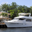 Yacht in Fort Lauderdale - Stock Photo