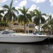 Yachts in Fort Lauderdale — Stock Photo