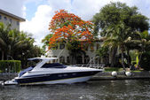 Boat in Fort Lauderdale — Stock Photo