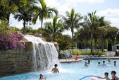 Vacation Village swimming pool — Stock Photo