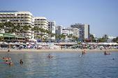 Marbella beach — Fotografia Stock