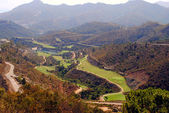 Andalusian golf course — Stock Photo