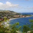 St Kitts south coast in the Caribbean — Stock Photo
