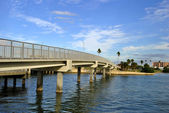 Bridge in Clearwater Beach — Stock Photo
