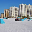Stock Photo: Hotels on Clearwater Beach Florida