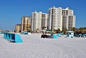 Hotels on Clearwater Beach Florida — Stock Photo
