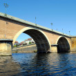 Stock Photo: Bergerac old bridge