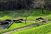 Parc pont heritage centre jardins — Photo