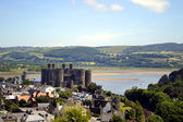 Conwy Castle in North Wales — Stock Photo