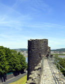 Conwy's town wall — Photo