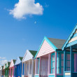 Southwold Beach Huts. — Stock Photo
