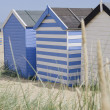 Beach Huts, Southwold, Suffolk, UK. — Stock Photo