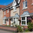 New Terraced Houses, UK. — Stock Photo