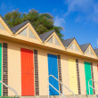 Lowestoft Beach Huts — Stock Photo