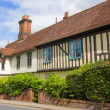 Tudor Houses at Halesworth, Suffolk, UK. — Stock Photo