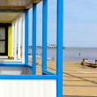 Beach  Huts, Southwold — Stock Photo