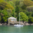 Fowey, Cornwall, UK — Stock Photo