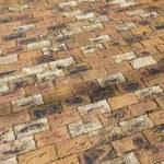 Brick Paving Driveway — Stock Photo
