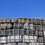 Gabion Cage Wall — Stock Photo #40950103