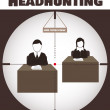 Headhunting — Stock Vector #23815289