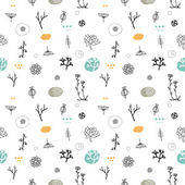 Simple seamless pattern — Stock Vector