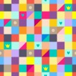 Royalty-Free Stock ベクターイメージ: Rainbow seamless pattern